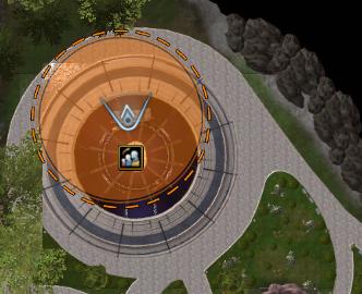 Location of Commander Viala