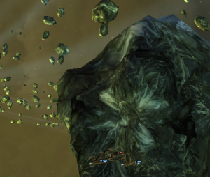 Screenshot of Koolhass system in Star Trek Online